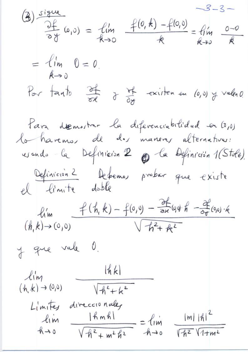 Exámenes de Matemáticas en Farmacia, Ciencias Ambientales